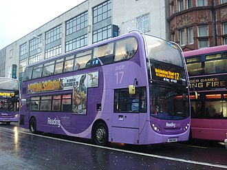 Reading Buses - Alexander Dennis Enviro 400 on route 17 in December 2013