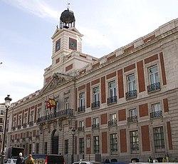 PROPUESTAS DE RULADA DE LA COMUNIDAD DE MADRID - DOMINGO 8 DE MARZO 250px-Real_Casa_de_Correos_%28Madrid%29_01