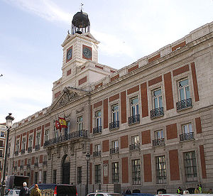 1768 in architecture - Image: Real Casa de Correos (Madrid) 01