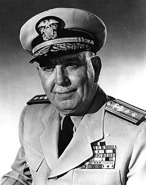 John Hoskins (officer) - John Hoskins as Rear Admiral (1956)