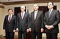 Recep Tayyip Erdoğan and George Papandreou, Erzurum January 2011 18.jpg