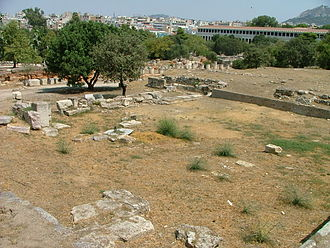 Ancient Agora of Athens - View of Heliaia