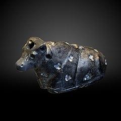 Reclining bull-AO 7021