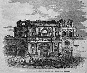 La Recolección Architectural Complex - Image: Reco 1840