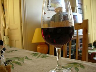 Provence wine - A red Bandol wine.