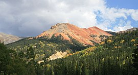 Red Mountain Pass Red Mountain 1 2006 09 13.jpg