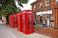 Red Telephone Boxes, Little Park Gardens, Enfield - geograph.org.uk - 935448.jpg