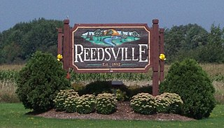 Reedsville, Wisconsin Village in Wisconsin, United States