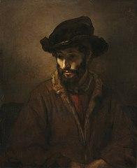 A Bearded Man Wearing a Hat