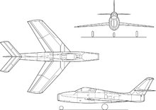 Republic F-84F Thunderstreak 3-view.png
