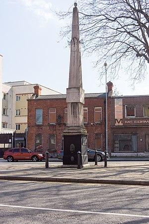 "St James' Church, Dublin (Church of Ireland) - The ""Fountain"", built in 1790 by the Duke of Rutland"