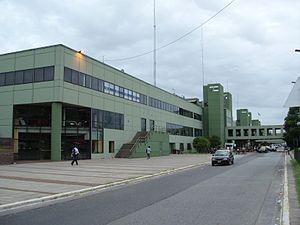 Retiro bus station - Image: Retiro Intercity Bus Terminal