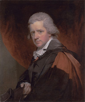 Charles Symmons - Reverend Dr. Charles Symmons (William Beechey, 1794)