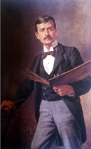 Ricardo Acevedo Bernal - Self-portrait (1917)