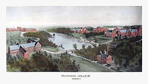 University of Richmond - Image: Richmond Rummell View