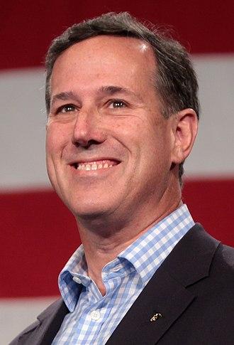 2016 Republican Party presidential candidates - Santorum