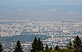 Ride with Simeonovo Cablecar to Aleko, view to Sofia 2012 PD 029.jpg