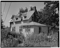 Right side from northeast - 2015 Woodland Avenue (Cottage), Des Moines, Polk County, IA HABS IOWA,77-DESMO,29-4.tif