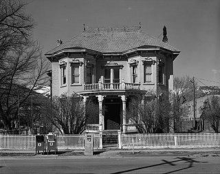 Rinckel Mansion Historic house in Carson City, Nevada