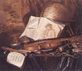 Ring, Pieter de - Still-Life of Musical Instruments.PNG