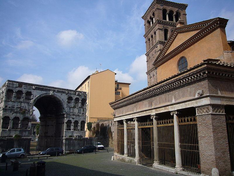 File:Ripa - arco di Giano e san Giorgio al Velabro 1010863.JPG