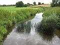 River Leadon running downstream - geograph.org.uk - 913940.jpg