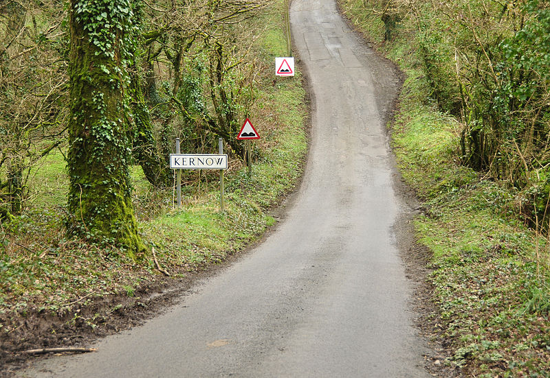 File:Road between West and East Youlstone.jpg