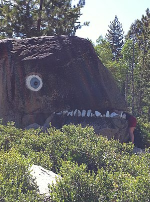 California State Route 4 - Roadside art, Ebbetts Pass Scenic Byway.