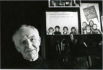 Robert Doisneau photographed by Bracha L. Ettinger in his studio in Montrouge, 1992.jpg
