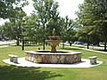 Roberta City Park, fountain.JPG
