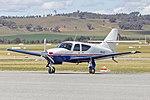 Rockwell Commander 112B (VH-PJO) at Wagga Wagga Airport.jpg