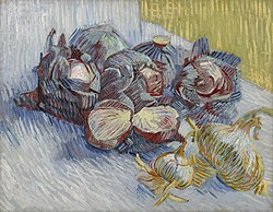 Vincent van Gogh: Red Cabbages and Onions