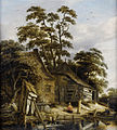 Roelof Jansz van Vries - cottage on a river with figures.jpg