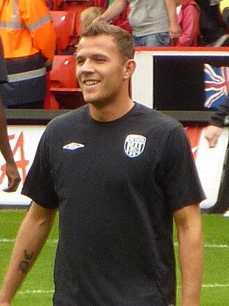 Roman Bednář - Bednář with West Bromwich Albion in 2009