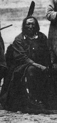 Kromme Noas by Fort Laramie, yn Wyoming, yn 1868