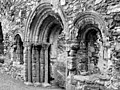 Romanesque arches, Torre Abbey ruins, Torquay. - geograph.org.uk - 1455428.jpg