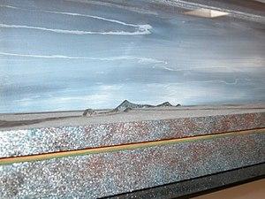 Ron Wigginton - Mountains Into Rivers (detail), 1976-1981