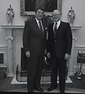 Ronald Reagan and John H. Reed 1982.jpg