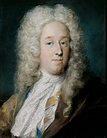 Rosalba Carriera - A Gentleman in a Gold Patterned Coat and Violet-Brown Cape (ca. 1727) - Google Art Project.jpg