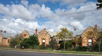 Mile End, South Australia - Cottages built in 1901-2 by Adelaide Workmen's Homes Inc.,  on the south side of Rose Street