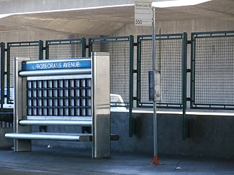 Rosecrans station - Image: Rosecrans Metro Silver Line Station 2