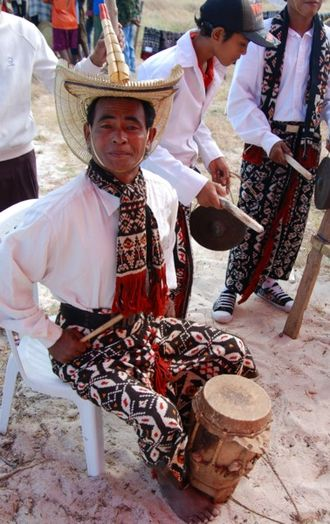 Rote Island - Image: Rote drummer