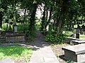 Rothwell Church Graveyard - Church Street - geograph.org.uk - 507620.jpg