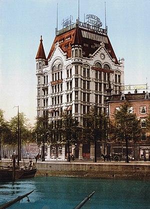 Rijksmonument - Witte Huis, in Rotterdam