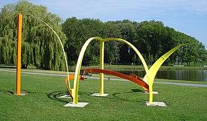 Phillip King (sculptor) - Quill (1971), Rotterdam