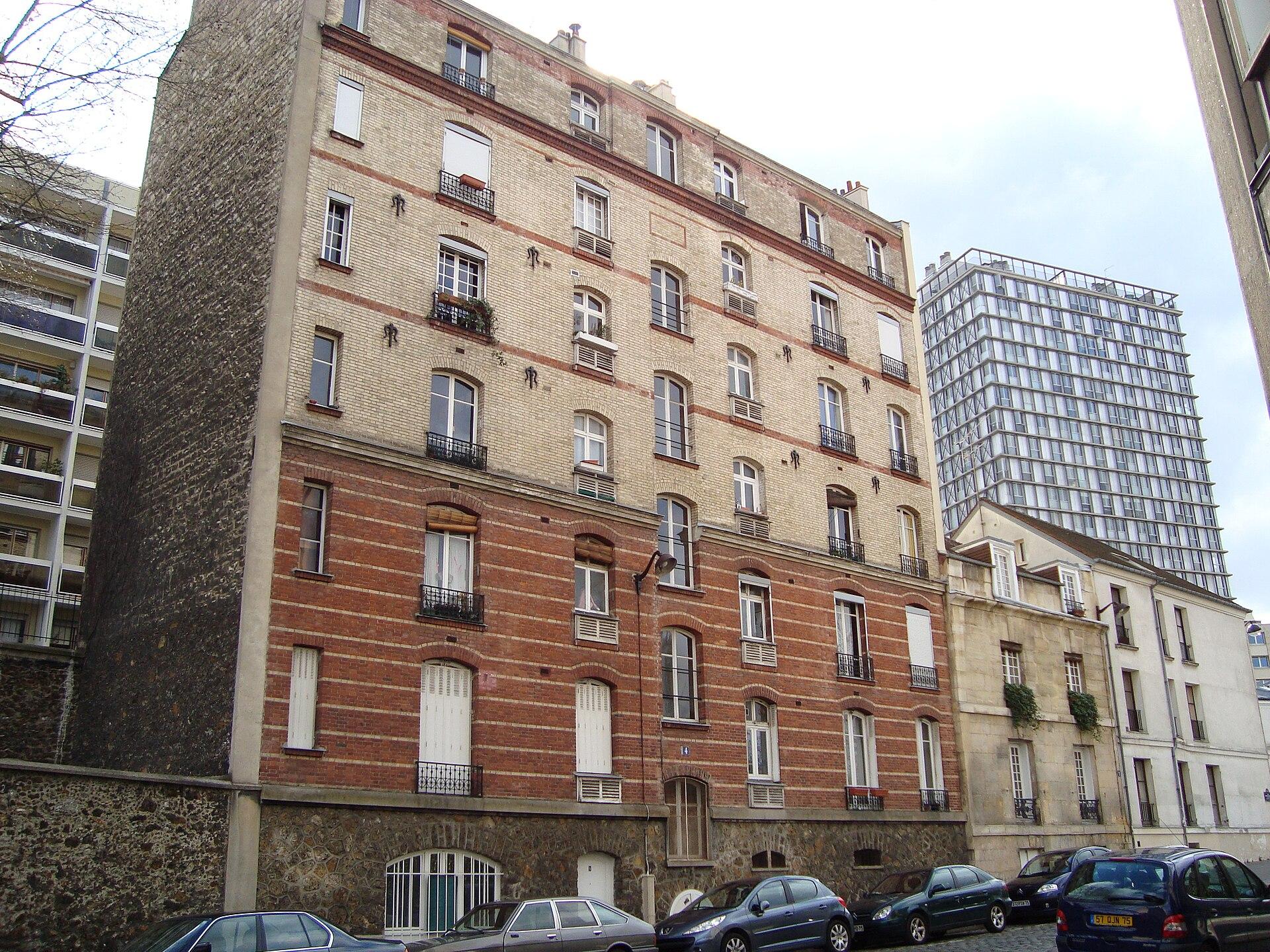 Histoire de l 39 urbanisme paris wikip dia for Habitat contemporain