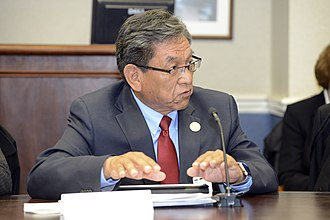 President of the Navajo Nation - Image: Russell Begaye in 2016