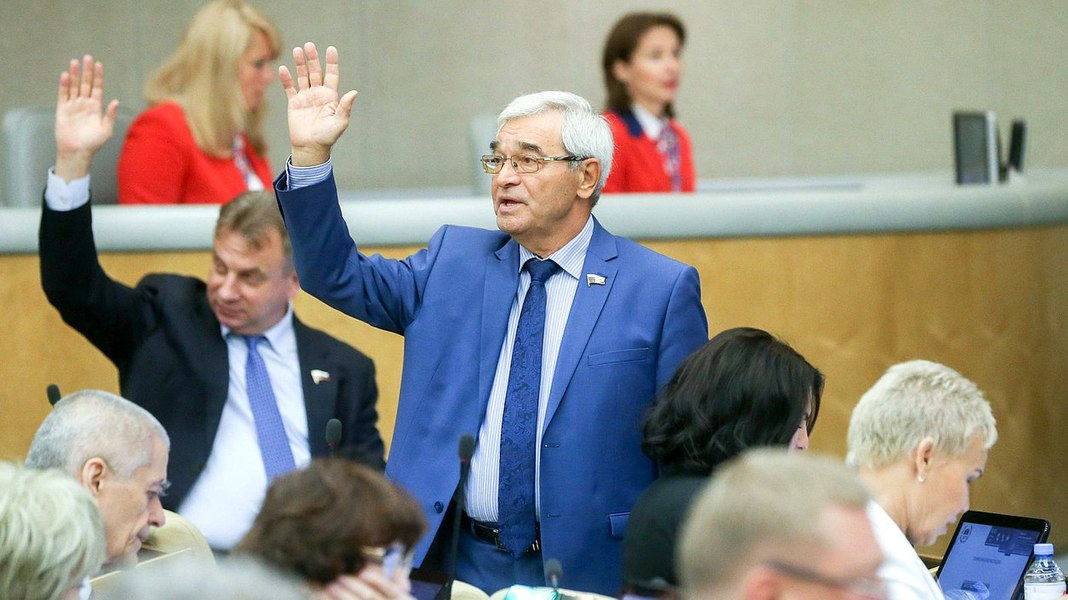 Russian State Duma adopts second reading of legislation raising the retirement age 11.jpg