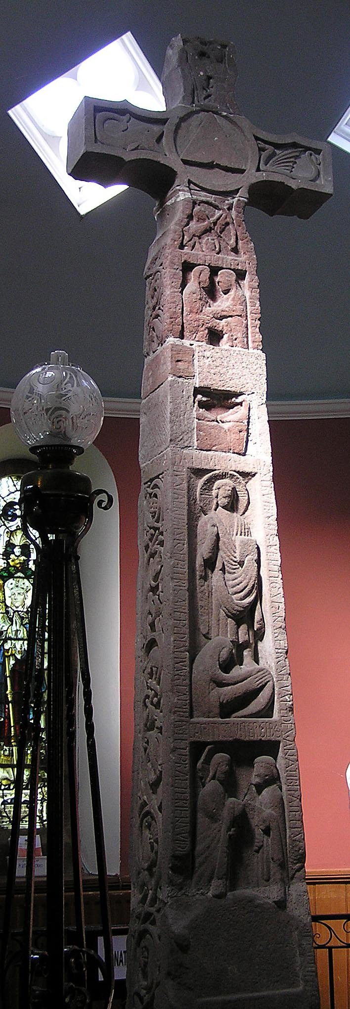 Ruthwell Cross - South face