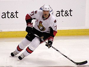 Jarkko Ruutu - Ruutu playing for the Ottawa Senators